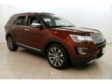 2016 Bronze Fire Metallic Ford Explorer Platinum 4WD #124258073
