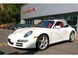 2008 Carrara White Porsche 911 Carrera Coupe #12425480