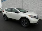 2018 White Diamond Pearl Honda CR-V LX AWD #124281717