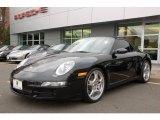 2007 Black Porsche 911 Carrera S Cabriolet #12425483
