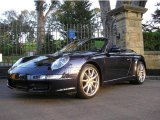 2007 Midnight Blue Metallic Porsche 911 Carrera Cabriolet #12424972
