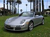 2007 Arctic Silver Metallic Porsche 911 Carrera S Cabriolet #12424974