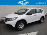 2014 White Diamond Pearl Honda CR-V LX AWD #124281635