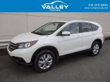 2014 White Diamond Pearl Honda CR-V EX AWD #124281633