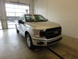 2018 Ingot Silver Ford F150 XL Regular Cab #124281731