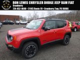 2017 Colorado Red Jeep Renegade Trailhawk 4x4 #124281692