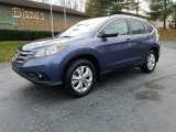 2012 Twilight Blue Metallic Honda CR-V EX-L 4WD #124281924
