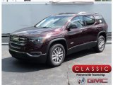 2018 Black Cherry Metallic GMC Acadia SLE AWD #124305406
