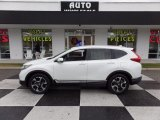 2017 White Diamond Pearl Honda CR-V Touring #124305378