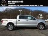 2018 Ingot Silver Ford F150 STX SuperCrew 4x4 #124305240