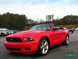 2011 Race Red Ford Mustang V6 Convertible #124305116