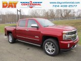 2018 Cajun Red Tintcoat Chevrolet Silverado 1500 High Country Crew Cab 4x4 #124305229