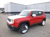 2017 Colorado Red Jeep Renegade Limited 4x4 #124305335