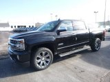 2018 Black Chevrolet Silverado 1500 High Country Crew Cab 4x4 #124330483