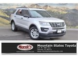 Ingot Silver Metallic Ford Explorer in 2016