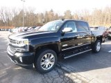 2018 Black Chevrolet Silverado 1500 High Country Crew Cab 4x4 #124330480