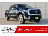 2018 Midnight Black Metallic Toyota Tundra SR5 CrewMax 4x4 #124344426