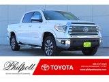 2018 Super White Toyota Tundra Limited CrewMax 4x4 #124344425