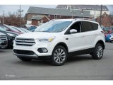 2018 White Platinum Ford Escape Titanium 4WD #124350458