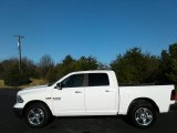 2017 Bright White Ram 1500 Big Horn Crew Cab 4x4 #124350376