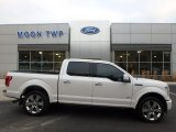White Platinum Ford F150 in 2017