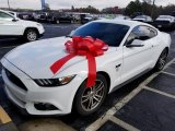 2016 Oxford White Ford Mustang EcoBoost Coupe #124344369