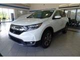 2018 White Diamond Pearl Honda CR-V EX-L AWD #124350527