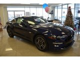 2018 Kona Blue Ford Mustang GT Fastback #124362697