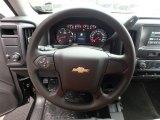 2018 Chevrolet Silverado 1500 Custom Crew Cab 4x4 Steering Wheel