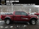 2006 Dark Toreador Red Metallic Ford F150 XLT SuperCrew 4x4 #124362670