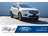 2018 White Platinum Ford Escape SEL #124382418