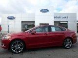 2016 Ruby Red Metallic Ford Fusion Titanium AWD #124382541