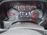 2018 Chevrolet Silverado 1500 LTZ Double Cab 4x4 Gauges