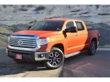 2016 Toyota Tundra Limited CrewMax 4x4 Front 3/4 View