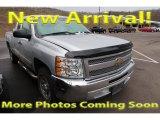 2012 Silver Ice Metallic Chevrolet Silverado 1500 LS Extended Cab #124382453