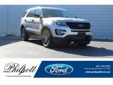2017 Ingot Silver Ford Explorer Sport 4WD #124382396