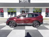 2017 Basque Red Pearl II Honda CR-V Touring #124382435