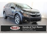 2018 Gunmetal Metallic Honda CR-V EX-L #124402250