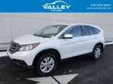 2014 White Diamond Pearl Honda CR-V EX AWD #124402173