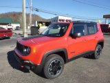 2017 Colorado Red Jeep Renegade Trailhawk 4x4 #124402303