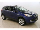 2014 Deep Impact Blue Ford Escape Titanium 2.0L EcoBoost #124402372