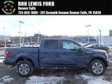 2018 Blue Jeans Ford F150 STX SuperCrew 4x4 #124418471
