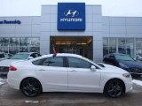 2017 White Platinum Ford Fusion Sport AWD #124418555