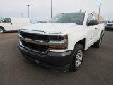 2017 Summit White Chevrolet Silverado 1500 WT Regular Cab #124418616