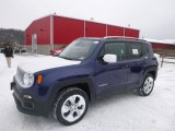 2017 Jetset Blue Jeep Renegade Limited 4x4 #124418573
