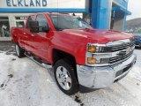 2017 Red Hot Chevrolet Silverado 2500HD Work Truck Double Cab 4x4 #124418454
