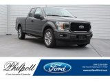 2018 Magnetic Ford F150 STX SuperCab #124441140