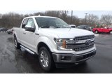 2018 White Platinum Ford F150 Lariat SuperCab 4x4 #124441194