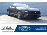 2018 Kona Blue Ford Mustang EcoBoost Fastback #124441112
