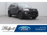 2017 Shadow Black Ford Explorer XLT #124441110